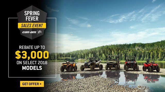 Can-Am - Spring Fever Sales Event - All Maverick X3, Maverick, Commander, Renegade and Outlander Offers